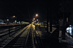 Little Silver Train Station, New Jersey by flickr4jazz