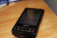 Nokia N95 8GB close-up