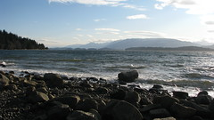 Sunny but cold (librarychik) Tags: bc britishcolumbia sointula malcolmisland