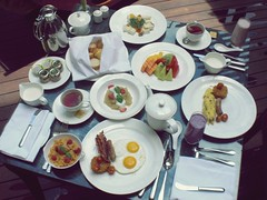 In-Suite Breakfast Experience - St. Regis Bali (Matt@PEK) Tags: bali stregis resort
