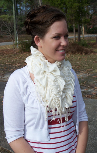 White Scarf Upgrade