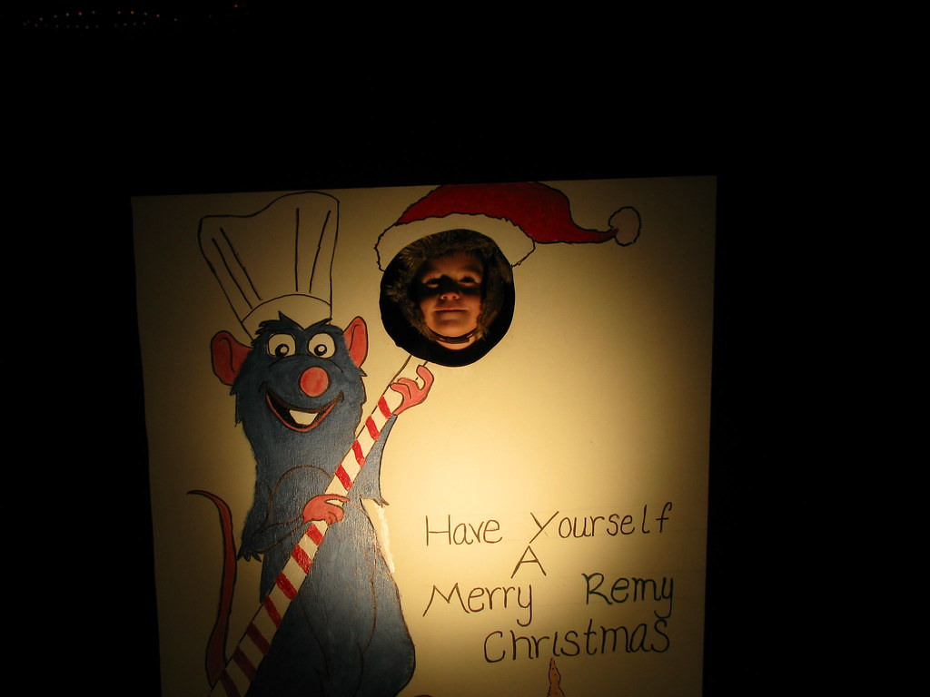 Pixar Style Christmas