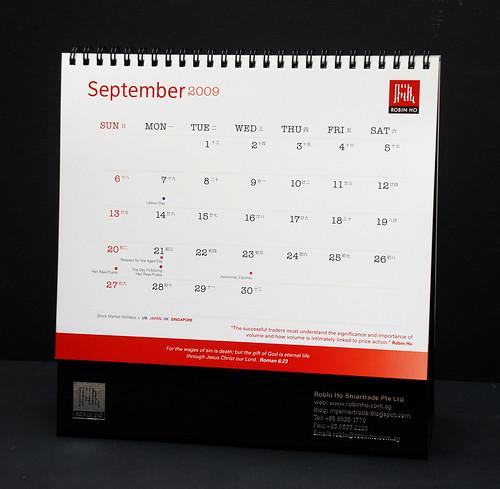 Trader's Calendar 2009 -5