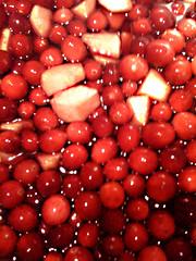 cranberries for chutney