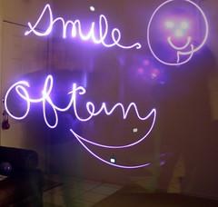 Light Writing - Smile Often