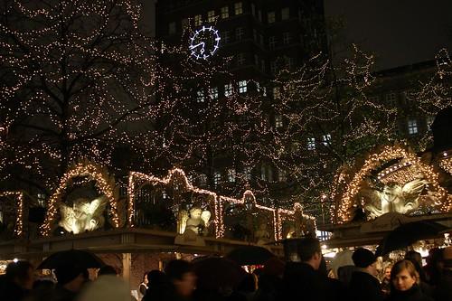 Christmas market lights by uitdragerij, on Flickr