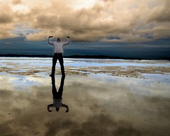 365 Day 29 (pimpexposure) Tags: cloud selfportrait reflection beach me clouds self bay ryan extreme 365 alameda 365days shiznotty pimpexposure