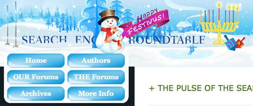Festivus & Chanukah at Search Engine Roundtable