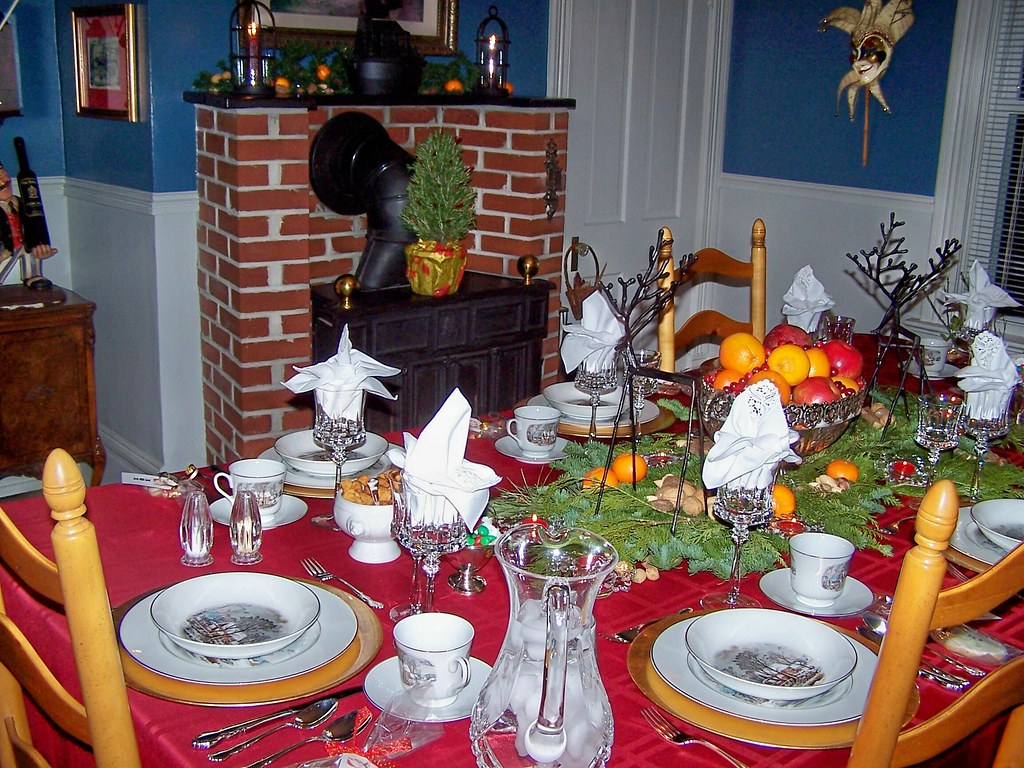 Dining Room Set for Dinner