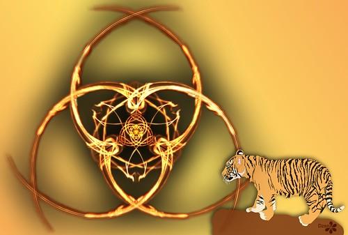 Tiger Triquetra
