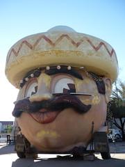 Mexican man head