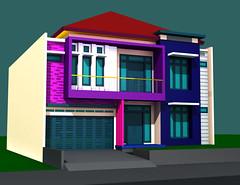 Desain Rumah Minimalis Duren Sawit by Indograha Arsitama Desain & Build