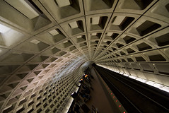 Washington DC Metro (Rozanne Hakala) Tags: usa station train underground dc washington districtofcolumbia metro explore gwu foggybottom