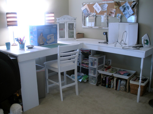 clean craft room