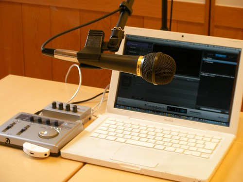 Podcast Studio Set