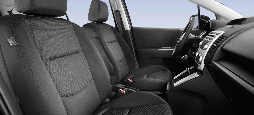 Mazda5 Driver seat, armrests