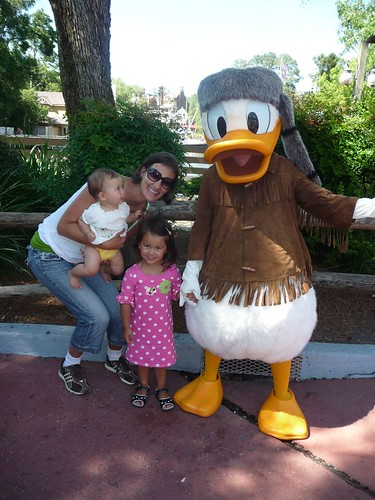 us girls with donald duck.