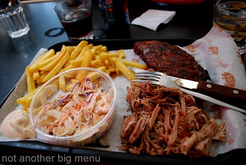 Bodean's, Soho - Ribs and pulled pork