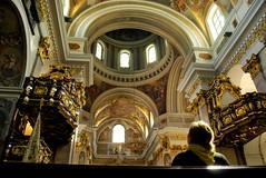 Hopes and Faith (littleblom) Tags: travel light people beauty architecture europe cathedral religion culture slovenia ljubljana