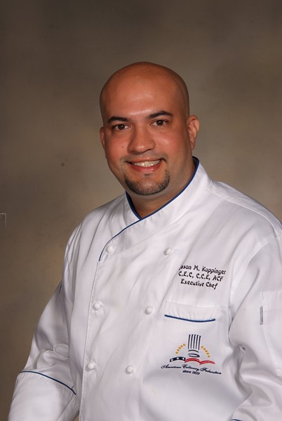 Chef Jason Koppinger - Executive Chef,YTL Autodome