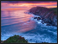 Point Reyes (Tony Immoos) Tags: ocean california sunset sky water clouds landscape surf pacific postcard scenic wave landmark olympus explore national iceplant marincounty pointreyes e3 frontpage seashore saltwater 1000views pointreyesnationalseashore cokin californialandscape printsavailable zd nd8 ndgrad zuikodigital p121f 1260mm olympuse3