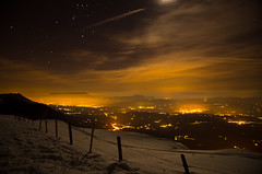 Refuge du Semnoz2 (Norlews) Tags: longexposure annecy nightshot semnoz wintermountain