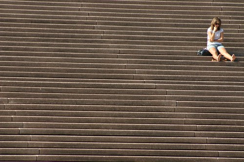 Stairs at the Sydney Opera House...
