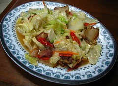 臘肉高麗菜