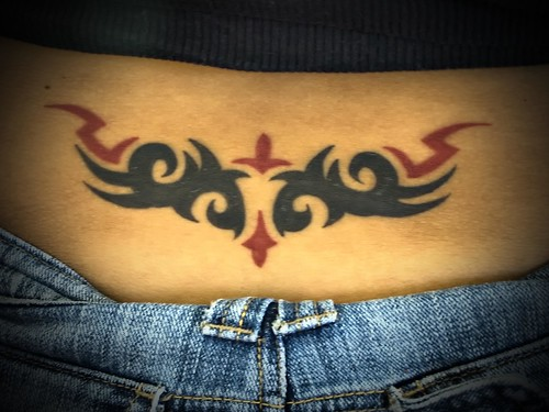 Cool Lower Back Tattoos With Cute Girl Images on Tattoo Typically New