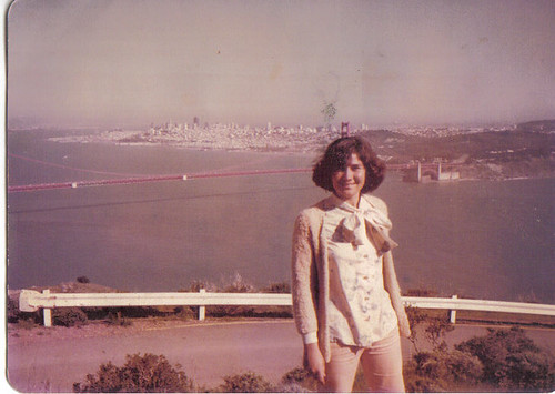 my mom in 1981