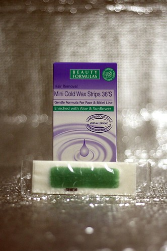Beauty Formulas, Mini Cold Wax Strips