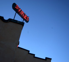 Symes Sign II (Matthew Boulanger) Tags: hot springs montan symes