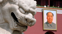 Happs (Max Braun) Tags: china portrait beijing mao   tiananmensquare tiananmen   maozedong      tagebild