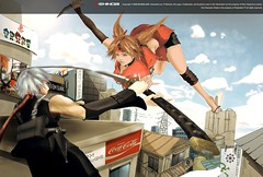 Aerial Waltz (P-Shinobi) Tags: anime art photoshop flickr drawing manga    hisaki