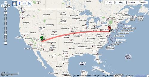 2,020 Miles