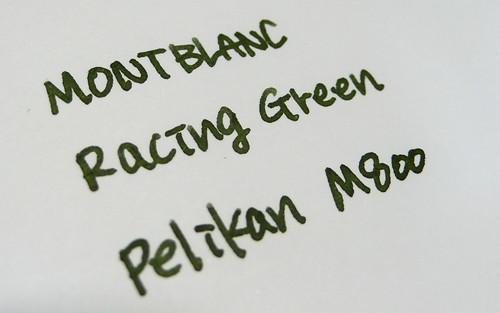 MONT BLANC racing green