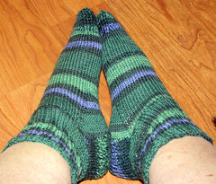 my 1st socks