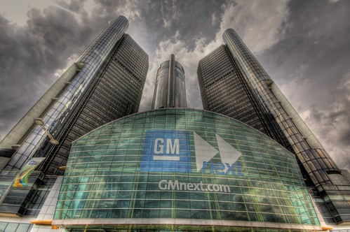 GM Renaissance Center HDR