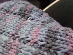 Clapotis #4 Close Up (mamamarce) Tags: wrap wip knitty clapotis