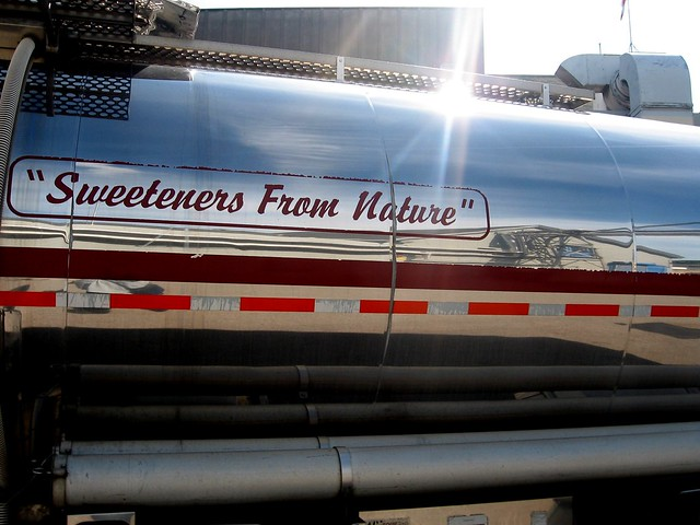 Sweeteners don't come in tankers