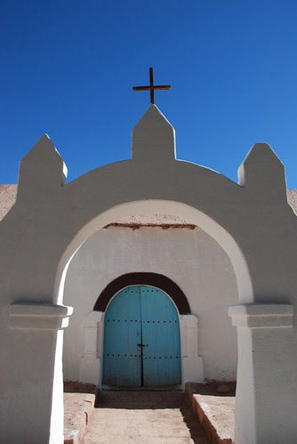 church, san pedro de atacama