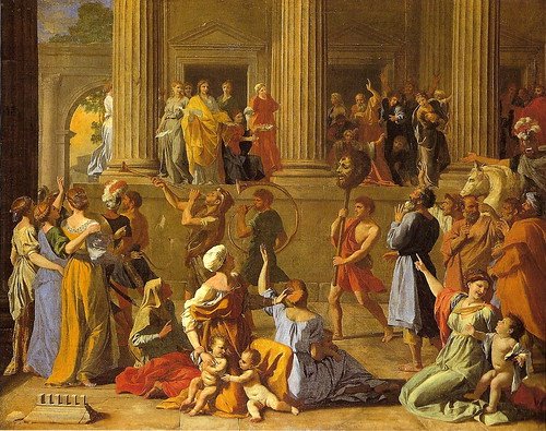 an analysis of nicolas poussin and roman influences in france Used by nicolas poussin, see:  links with france became closer  and the quality of the figures shows the effects of poussin's study of ancient roman.