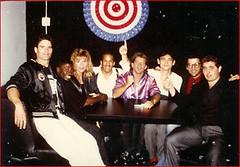 """Pete """"Sugar Foot"""" Cunnigham, Rod Kei, Don """"the Dragon"""", & Chris Penn"""
