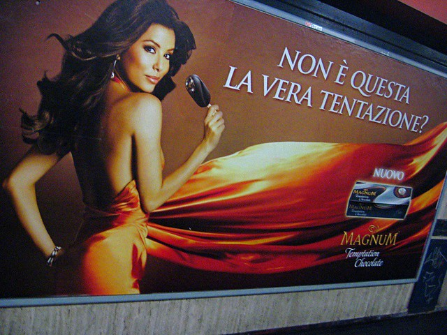 Eva Longoria Sells Ice Cream In Rome by marcpics