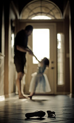 Dancing with Daddy Bokeh (mjmatt) Tags: dancing cinderella glassslippers explored impressedbeauty sheadoresherdaddy thesweetpowerofthisthingcalledphotography stealingcinderella