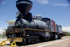 Grand Canyon Train at Depot - Williams Arizona (Al_HikesAZ) Tags: county railroad arizona southwest station train williams quote rail railway explore transportation depot locomotive coconino coconinocounty grandcanyonrailroad azwexplore alhikesaz arizonamemoryproject
