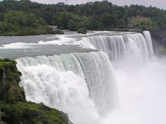 Niagra Falls - American Falls (dmrtex) Tags: vacation newyork niagrafalls americanfalls july2008