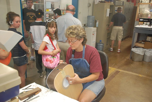 Gotham Girl » A Visit to the Martin Guitar Factory