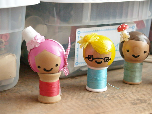 Spool Dolls