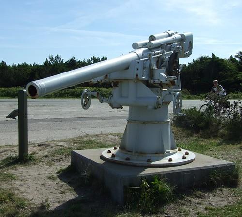 German 10,5 cm anti aircraft gun